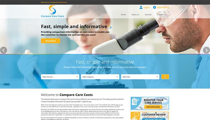 Compare Care Cost