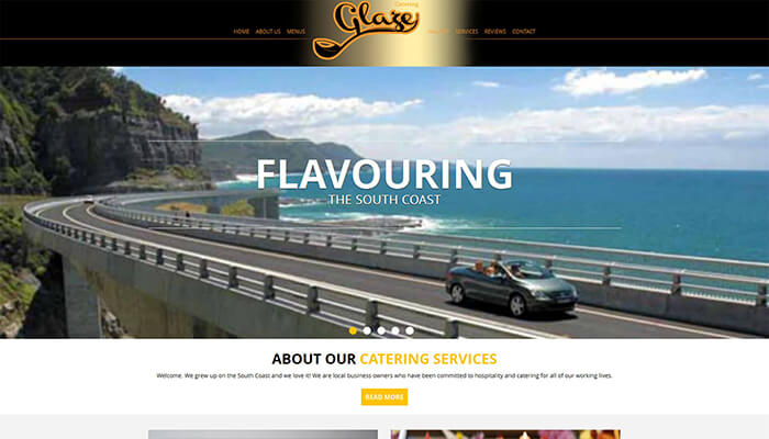 Glaze catering
