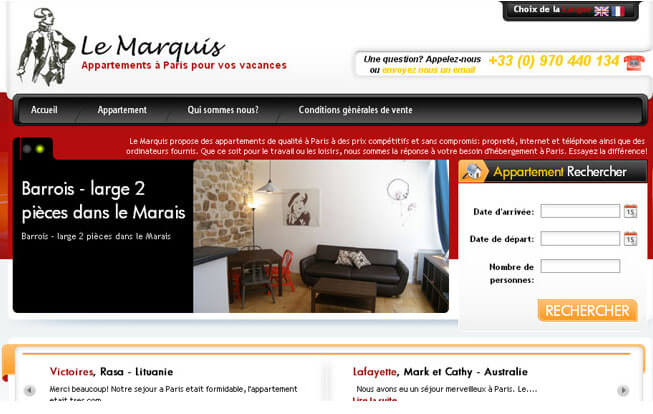 Le Marquis Appartment