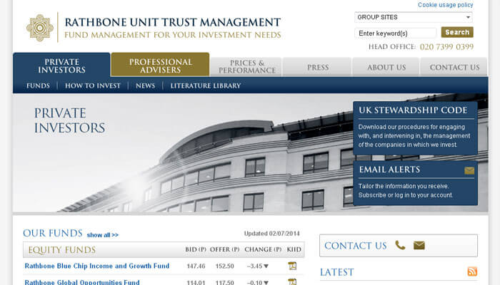 Rathbone Unit Trust Management