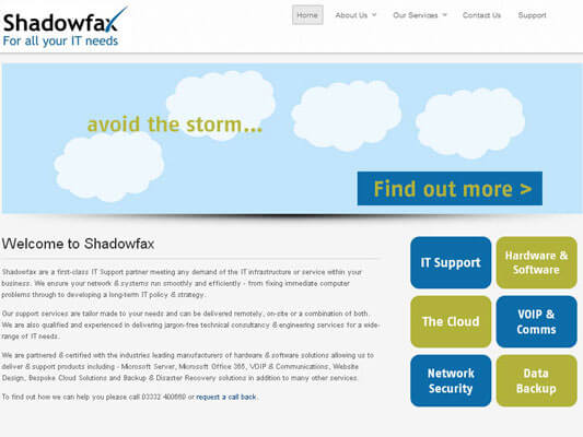 Shadowfax IT Support