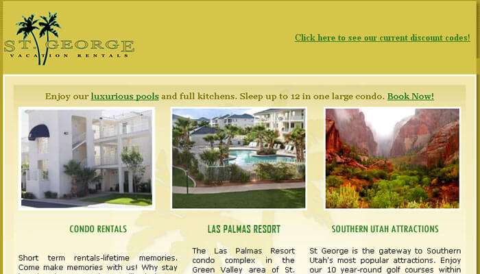 St George Vacation Rentals