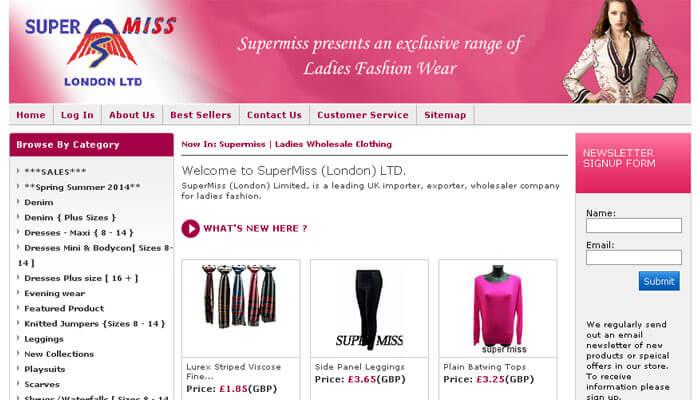 Supermiss Ladies Wholesale Clothing