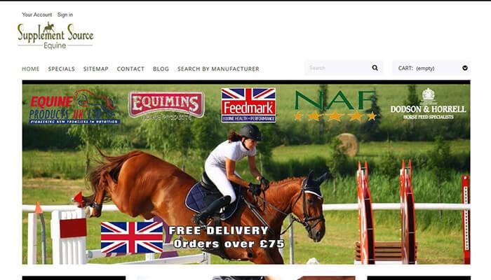 Supplement source Equine