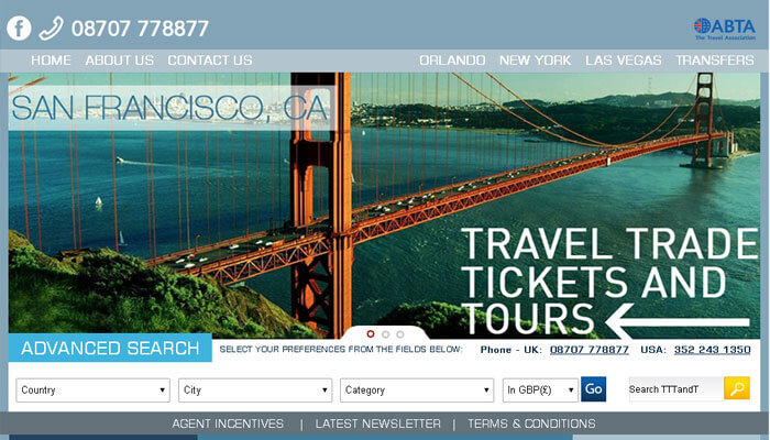 Travel Trade Tickets and Tours