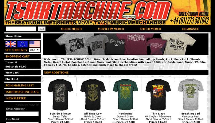 Tshirt Machine