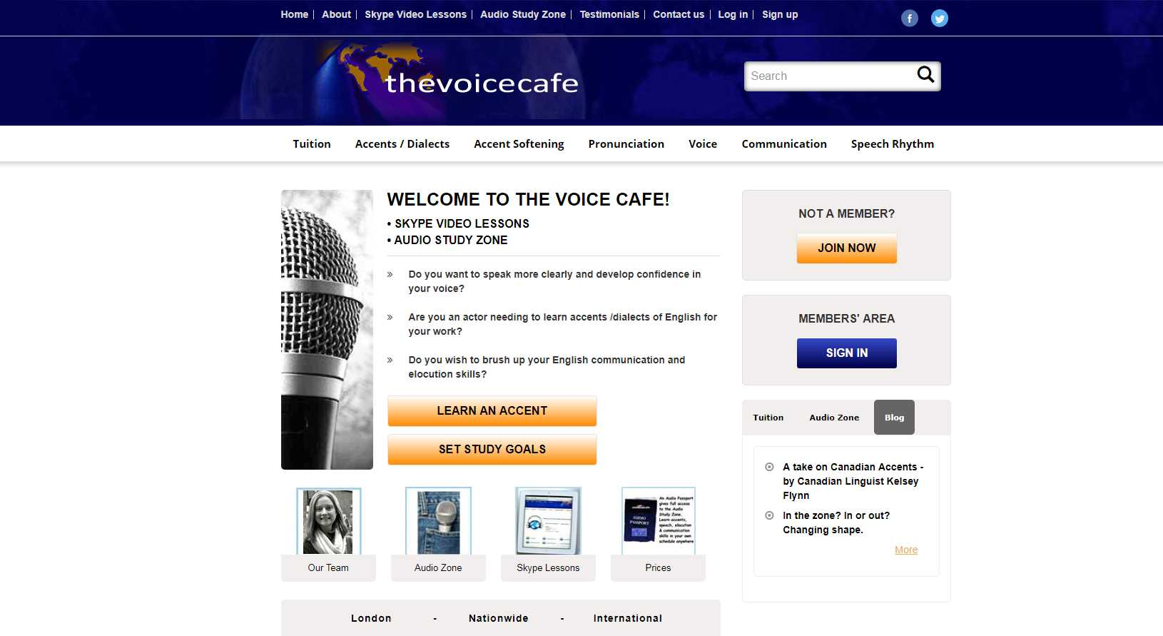 Thevoicecafe